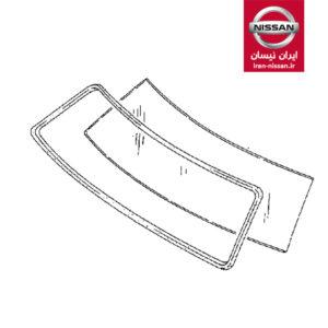 نوار شیشه جلو ساده پاترول ایرانی