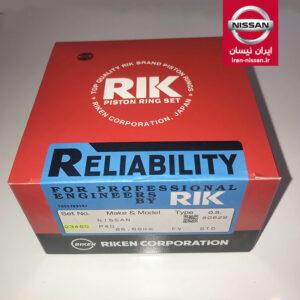 رینگ موتور تمام کروم پاترول ۶ سیلندر RIK